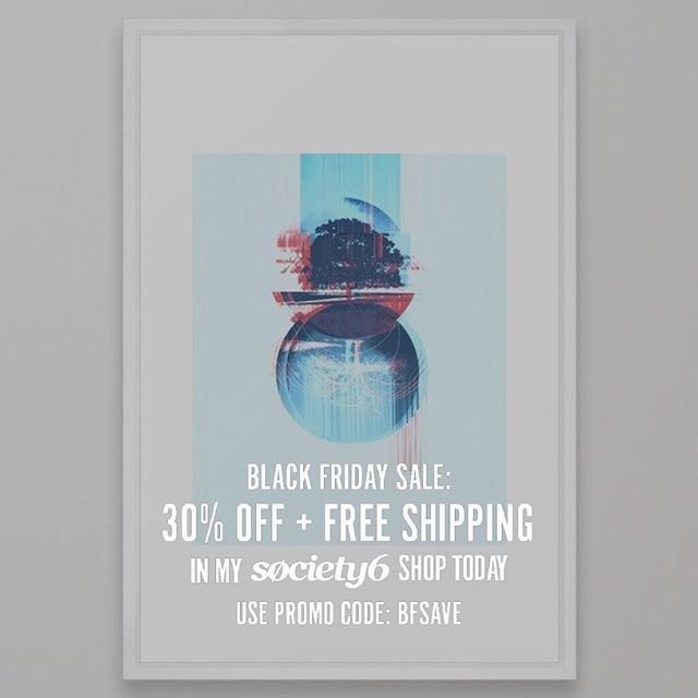 Today and tomorrow (22-23) you can take advantage of some #BlackFriday sales. Check out art @society6 , tees from @cottonbureau, and the book all by @sscriv - alwaysdeconstructing.com #alwaysdeconstructing #semperintrospiciens #d150r13ntat10n #society6 #cottonbureau #amazonbook
