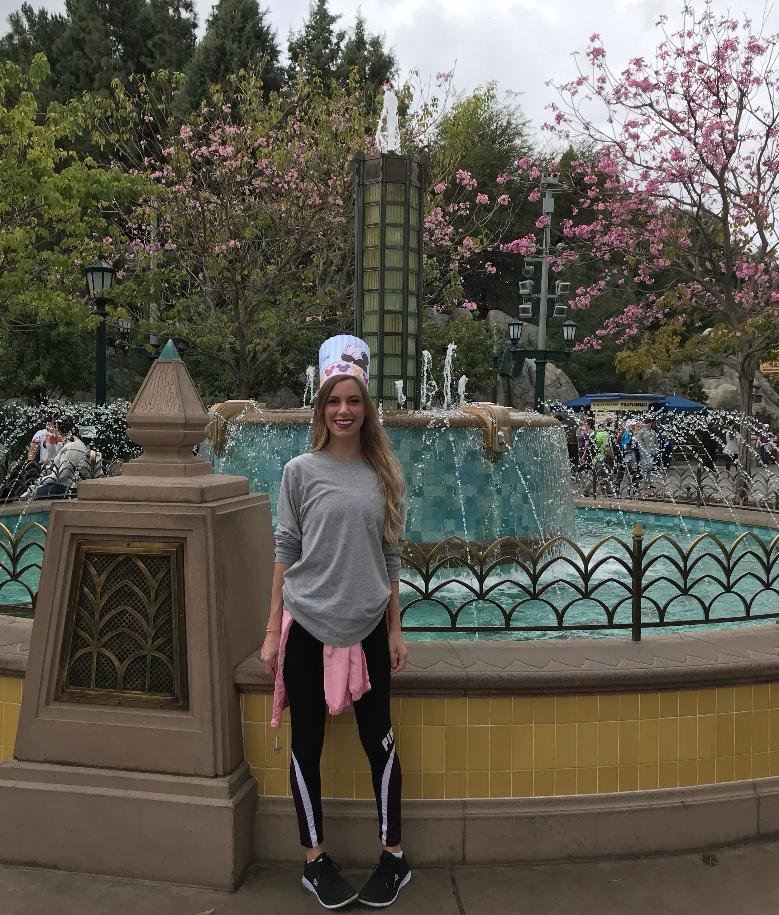 So many activities for the kids too. I had to join in on the fun with this Chef Mickey hat!