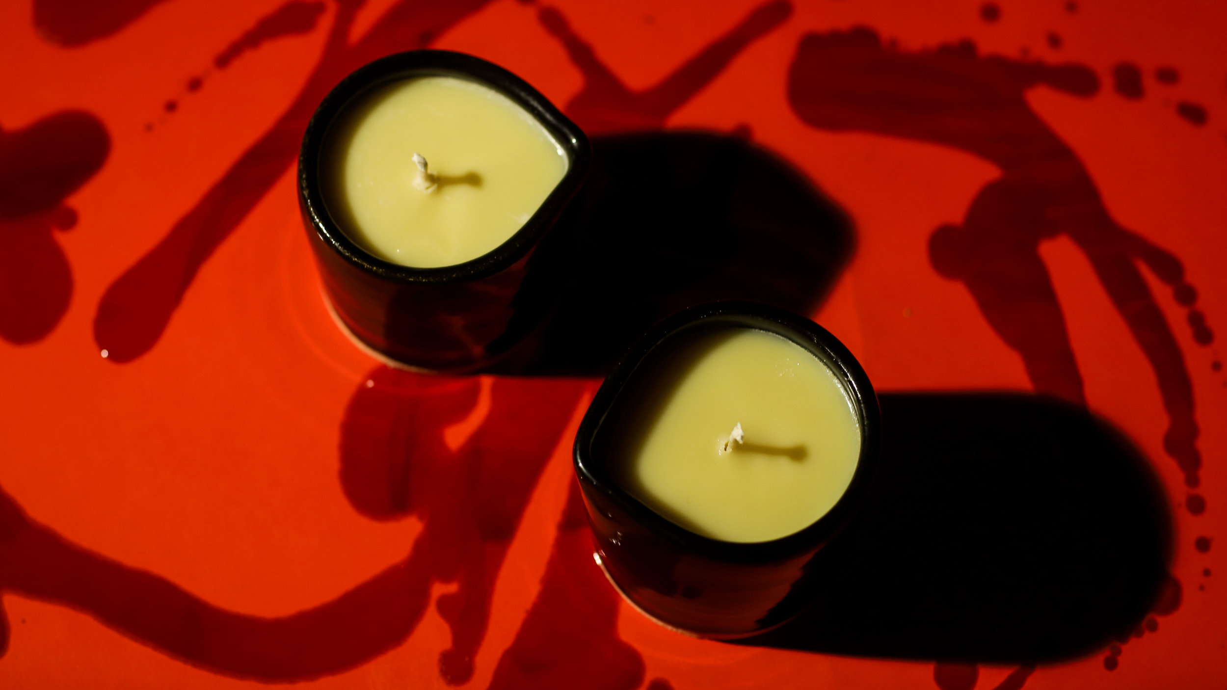 Evernight and Euda. Our first ever massage oil candles. Shop  here .
