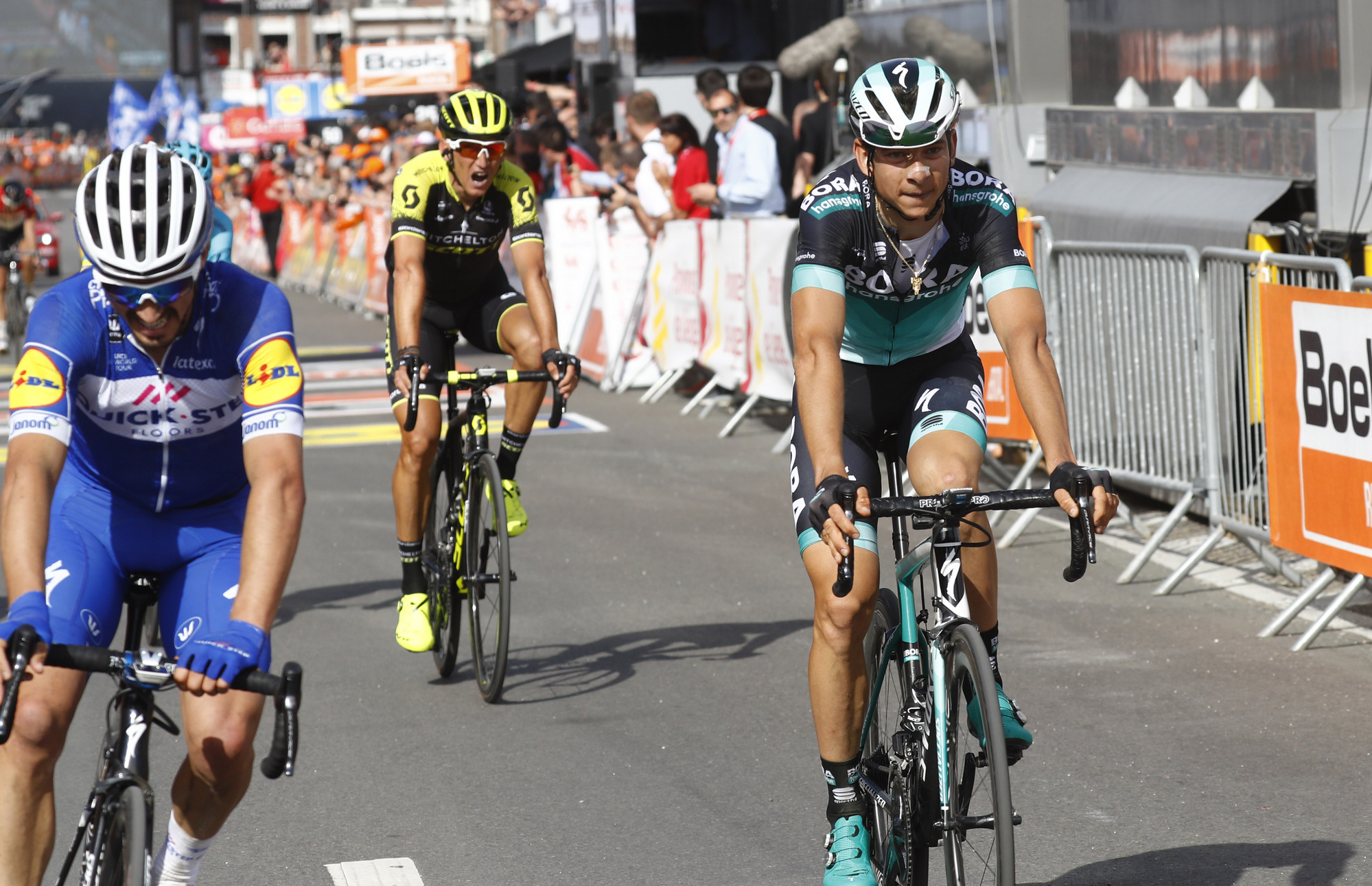 Davide Formolo races to 7th place in his favorite one day race