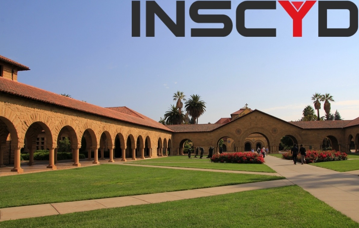 Campus of the world famous Stanford University