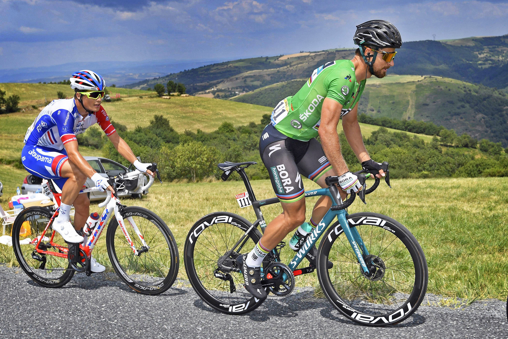 Peter Sagan is the prime example of an athlete balancing aerobic and glycolytic power extremely well.