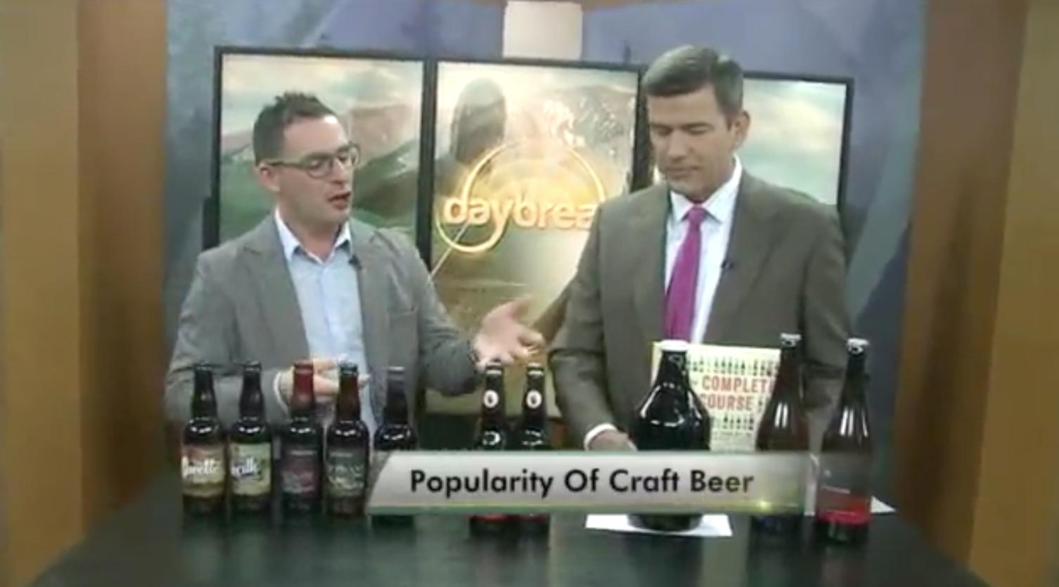 Rise of Craft Beer on FOX 31 Daybreak