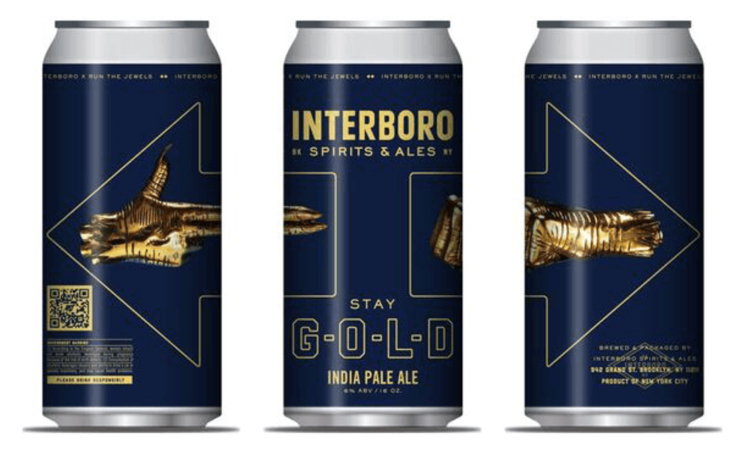 Interboro and Run the Jewels' Stay Gold IPA