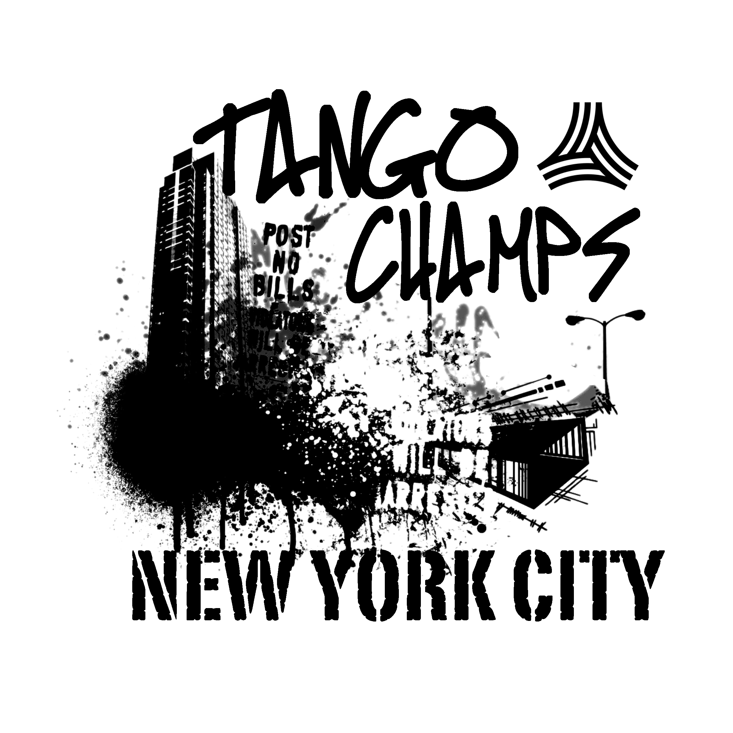 Jacket design for  Adidas Tango  Soccer Tournament in New York City.