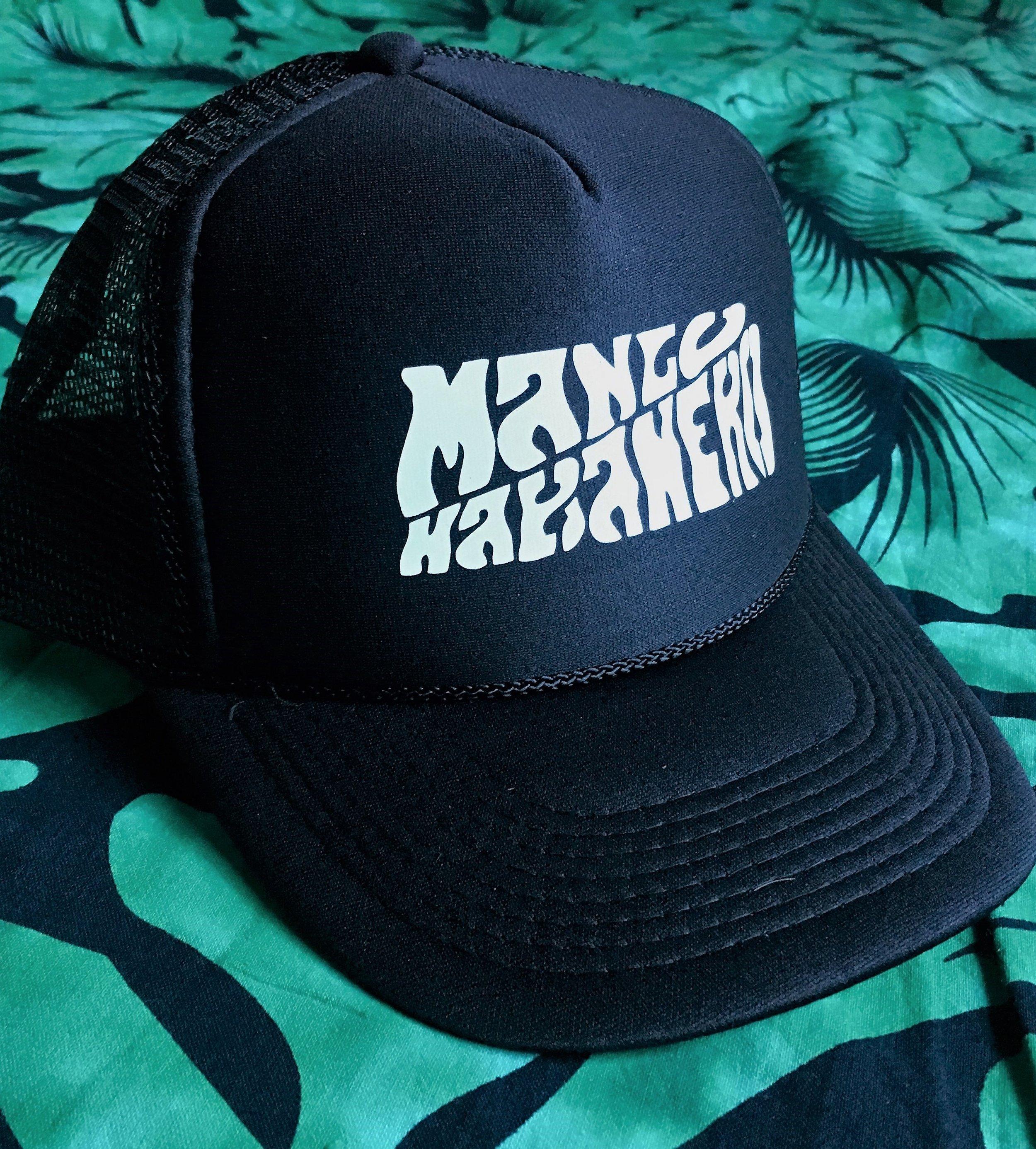Trucker Hat $15 - - Unisex, adjustable- Black with White logo