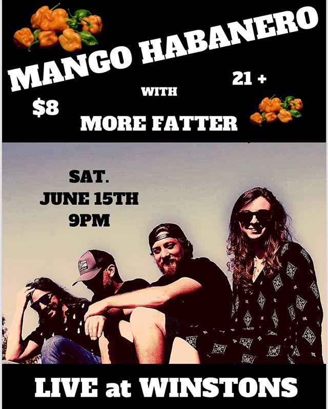 This Saturday is gonna be rad! 🤘🏻🥁🎸🤘🏻 . . . #winstonsob #winstonsbeachclub #livemusic #mangohabanero #mangohabaneromusic #habanero #fun #listenlocalsd #music #reggae #rock #funk #originalmusic #original #oceanbeach #sandiego #california #socalmusic #socal #morefatter @morefatter