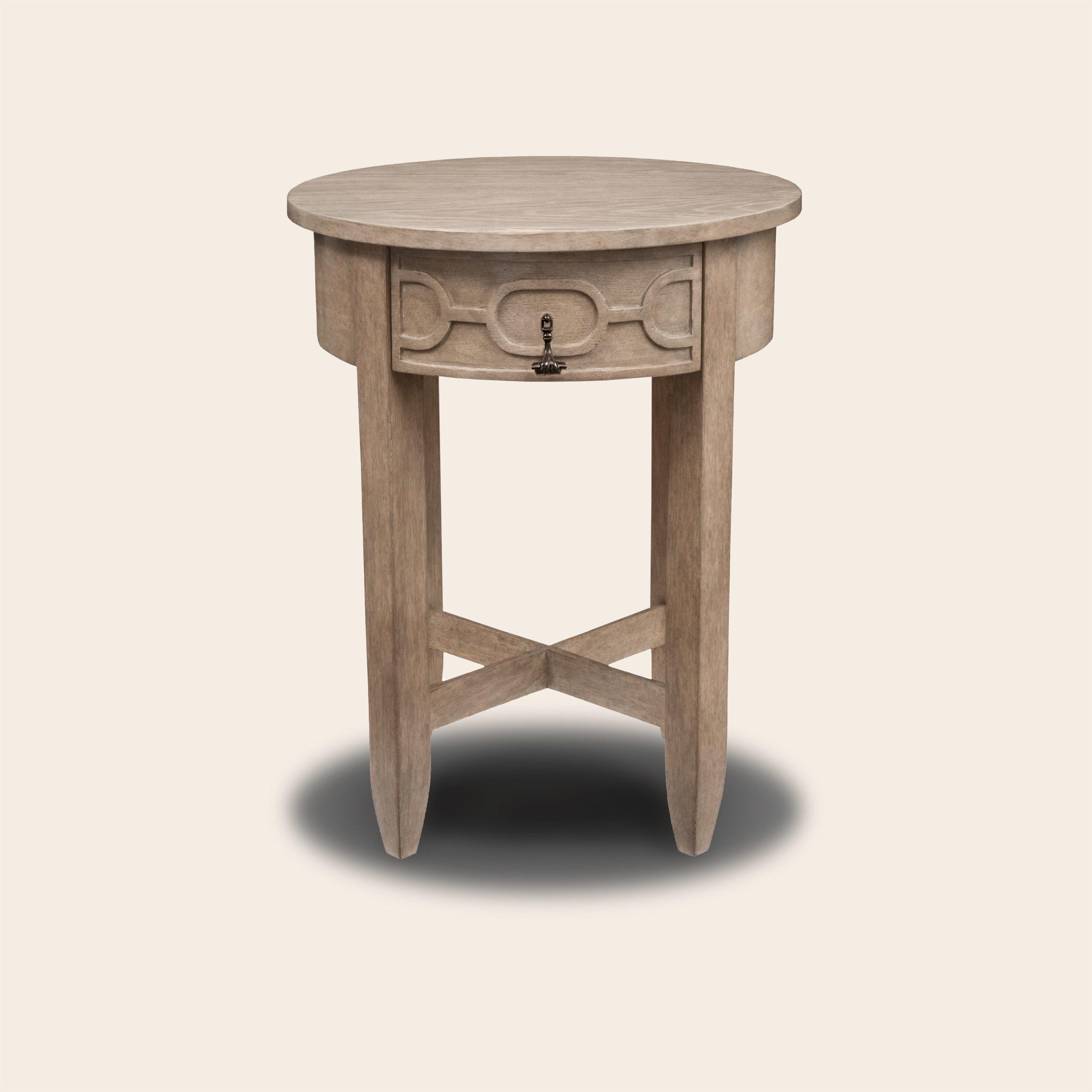 Renato Side Table White Oak CM