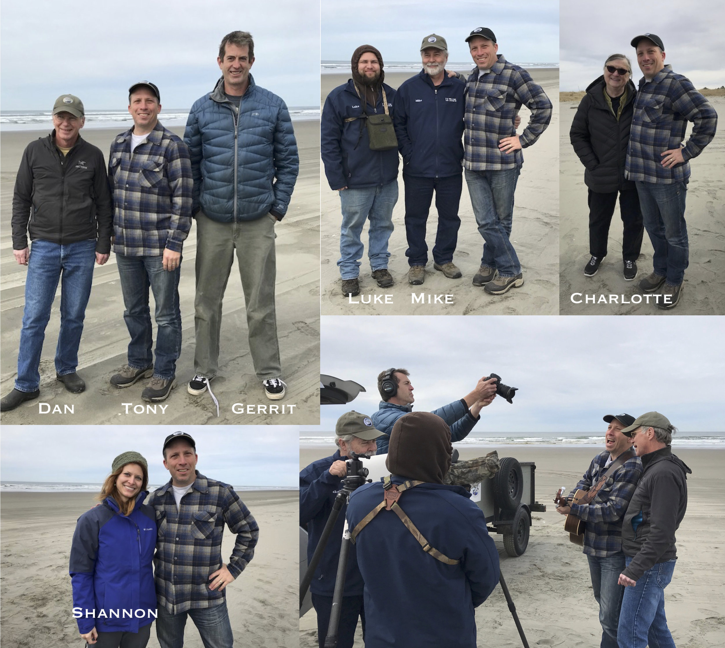 Band on the bird video shoot coastal raptors collage march 2018.jpg