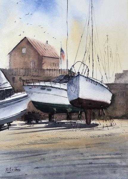 Three Boats [SOLD]
