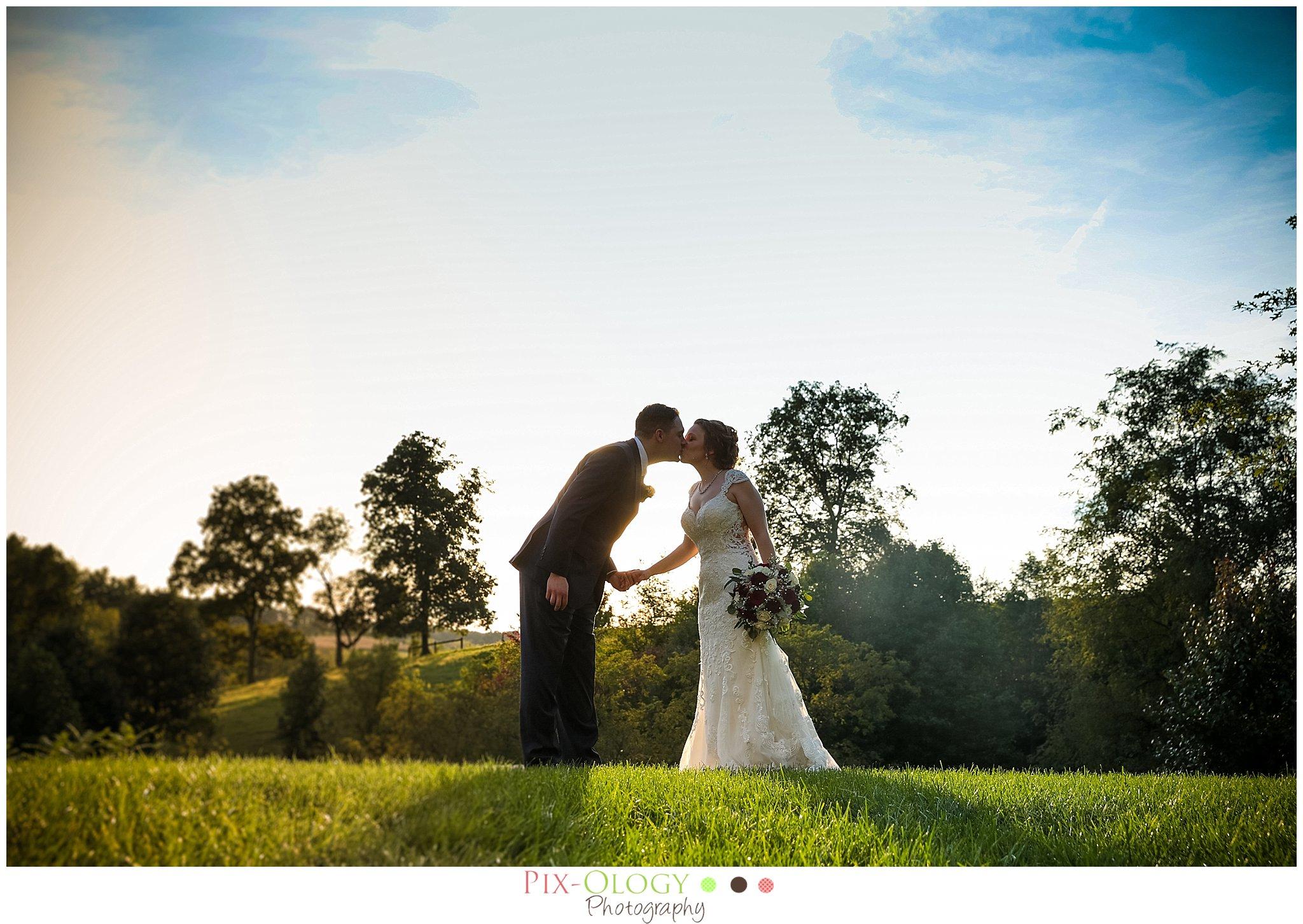 Glasbern Inn Wedding Sunset