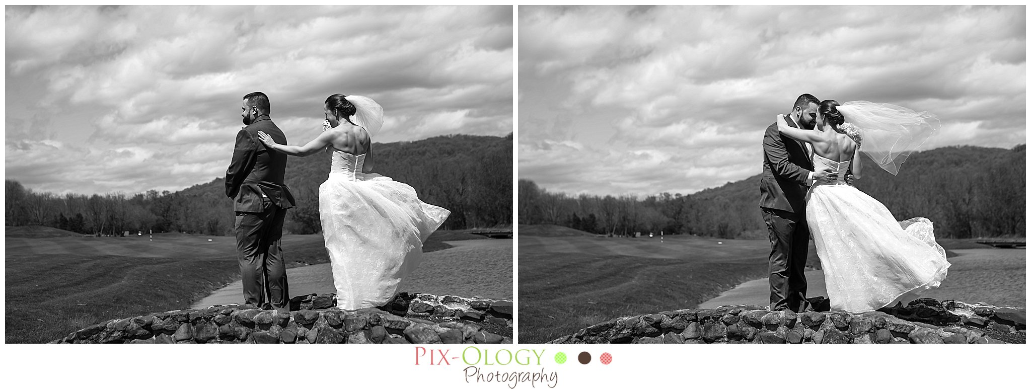 First Look Architects Golf Club New Jersey Wedding