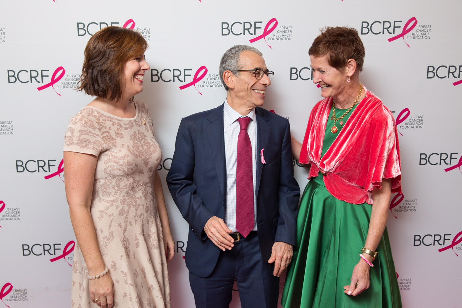 Kelley Tuthill, Dr. Eric Winer, (Carol's doctor, at Dana Farber) and Carol Chaoui.