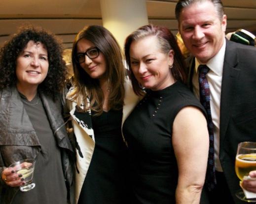 Melissa Steffy, Erica Corsano, Kennedy Elsey, and Jeff Brandli at Flying Kites.