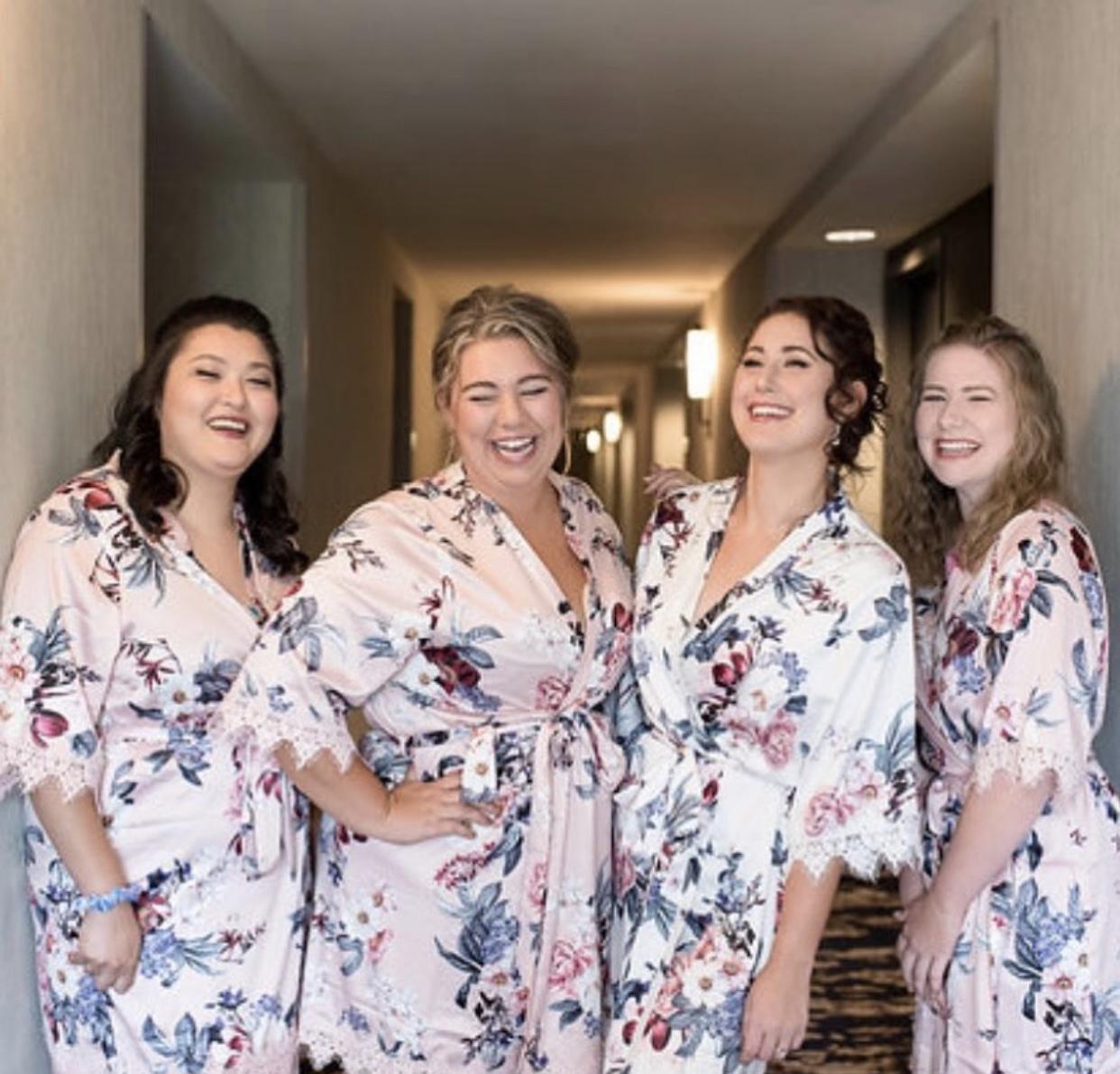 Beautiful Bride & Her Girls