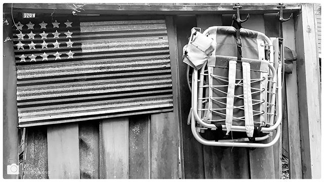 """Lowcountry Labor Day"" #labordayweekend #blackandwhitephotography #alltheshots . . . #fadedglory #murica #beach #lowcountry #blackandwhite #flag #folkart #holiday #southcarolina #americanflag #endofsummer #ericrayburnphotography @onlyinsouthcarolina @visitscarolina @gardenandgun"