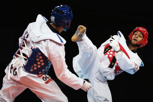 Vaughan competed at the 2012 London Games inthe under 80kg division. -