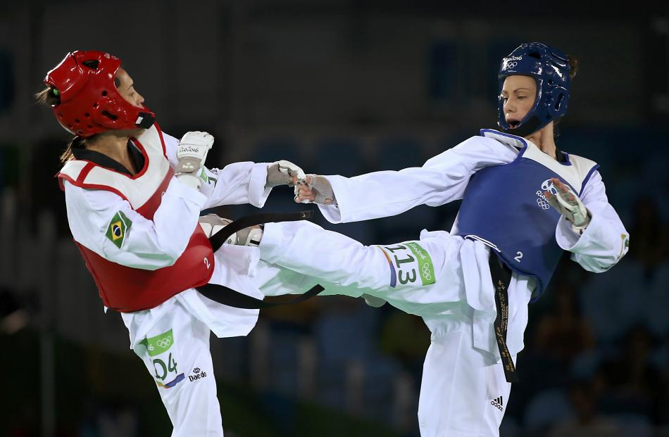 Andrea represented New Zealand at the 2016 Rio de Janeiro Games in the under 49kg division. -