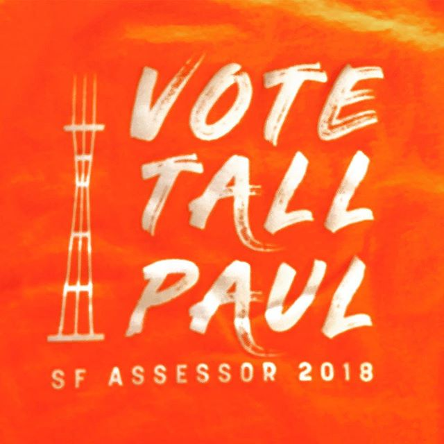 It's time. Thanks to everyone for everything that got me to today. Long road to get here. Win or lose, THANKS. And remember...Vote Tall Paul!