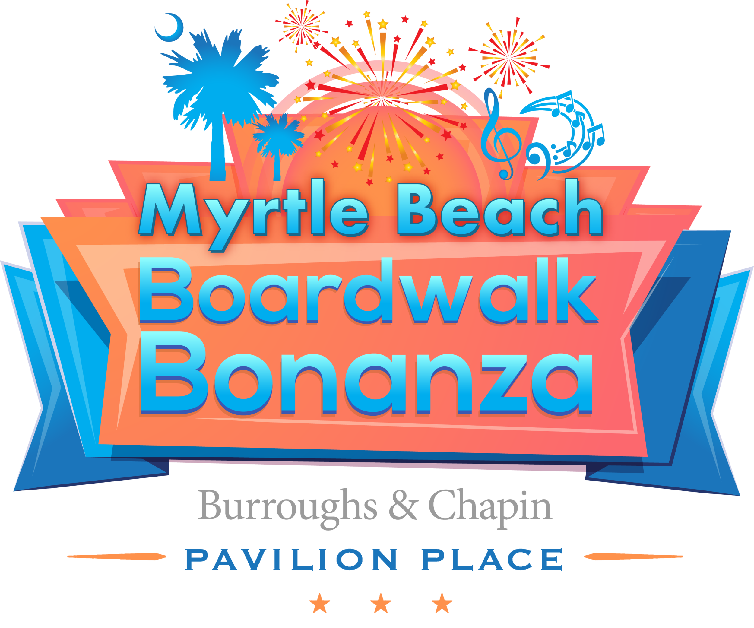 The Myrtle Beach Boardwalk Bonanza is a free family-friendly event that features live entertainment, variety shows, talent and karaoke contests, food trucks, DJ performances, a kid's activity area, games, and much more! Enjoy downtown each Wednesday and Thursday from 6-11 p.m. For event details, visit  BoardwalkBonanza.com . For more information, contact Amie Lee, Palmetto Event Productions, at 843-855-0527 or  info@palmettoeventproductions.com .