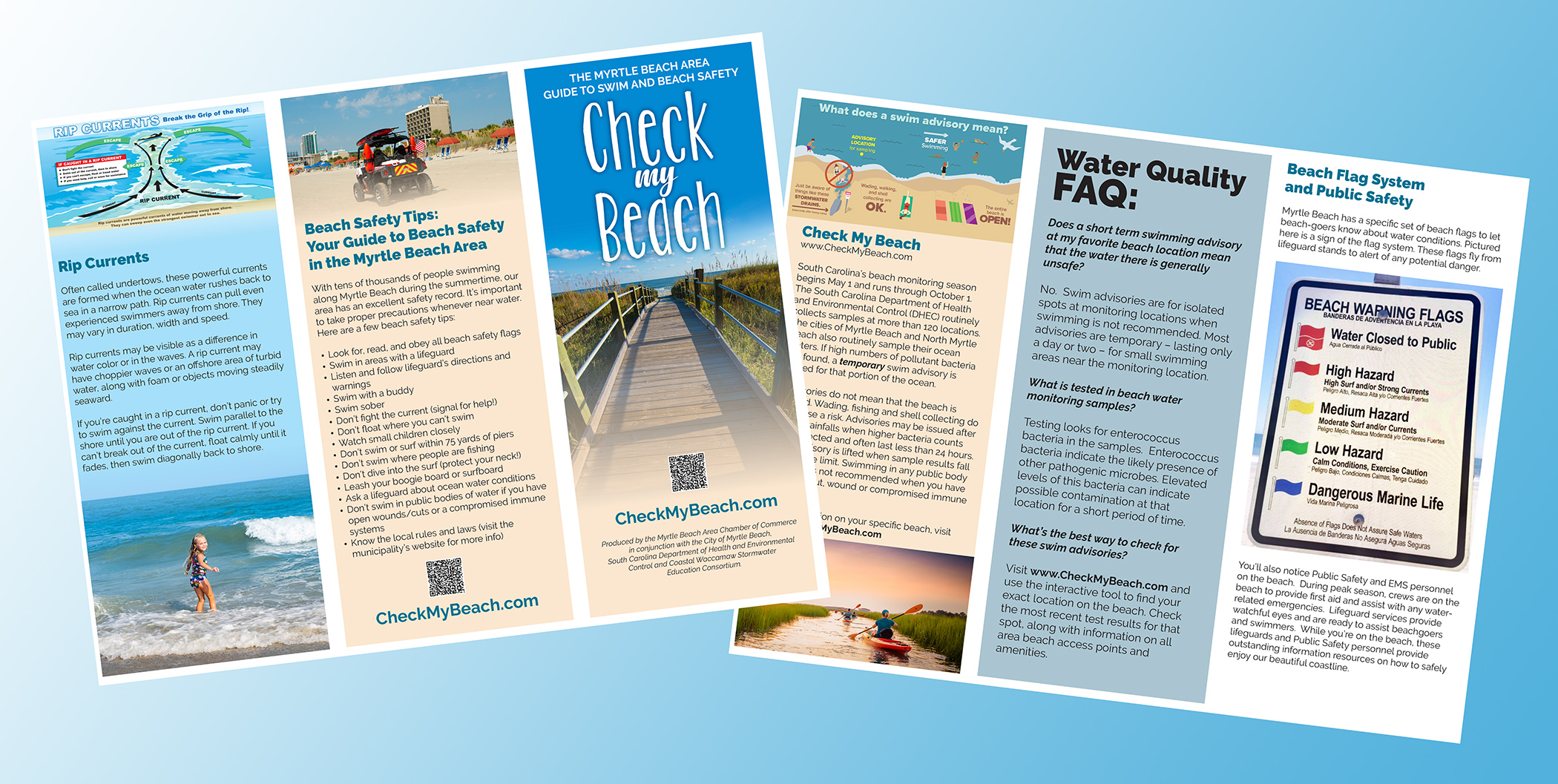 Check My Beach - Myrtle Beach Area Guide to Swim and Beach Safety