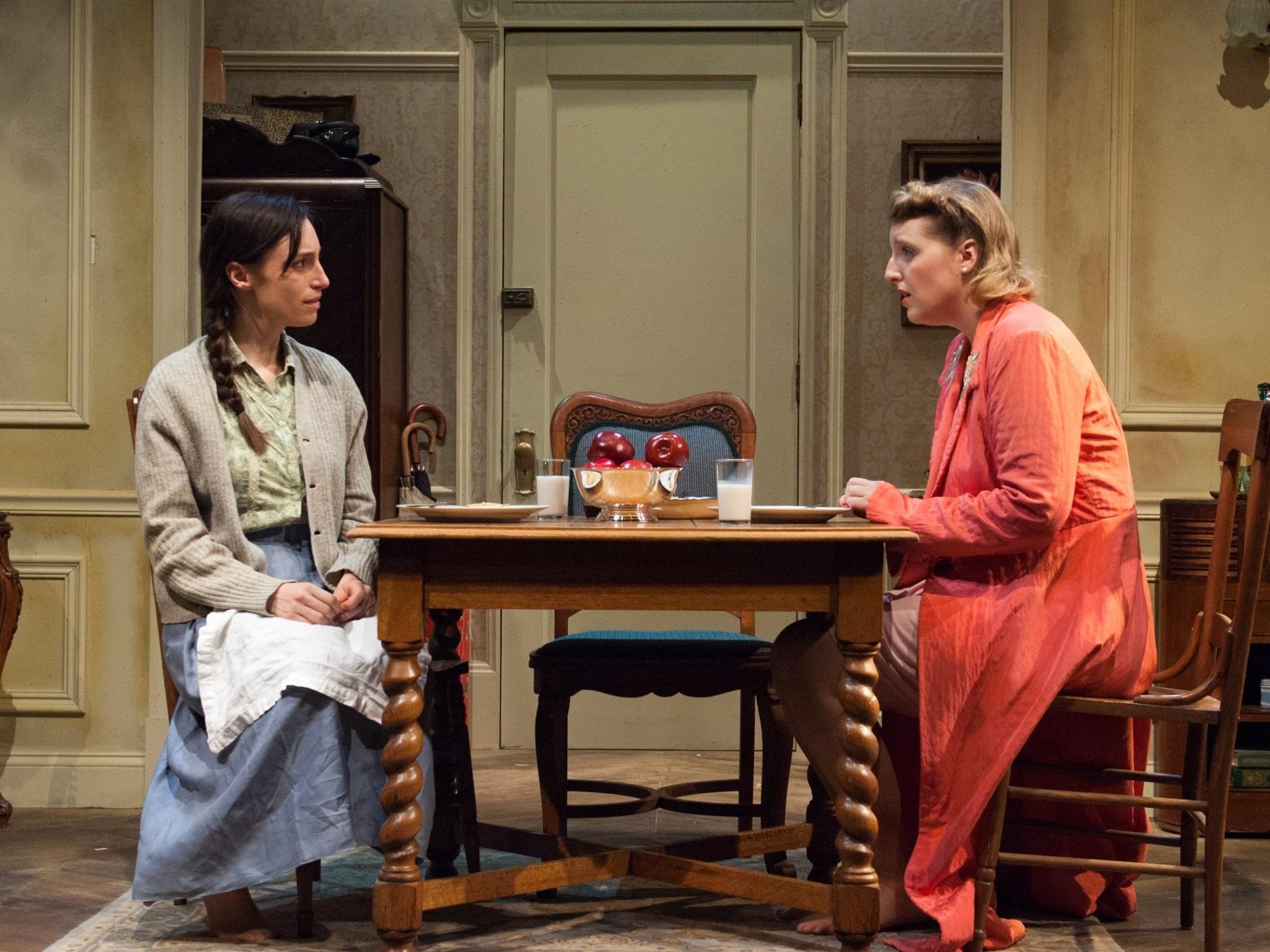 A SHAYNA MAIDEL  TimeLine Theatre   Emily Berman and Bri Sudia/Photo: Laura Goetsch