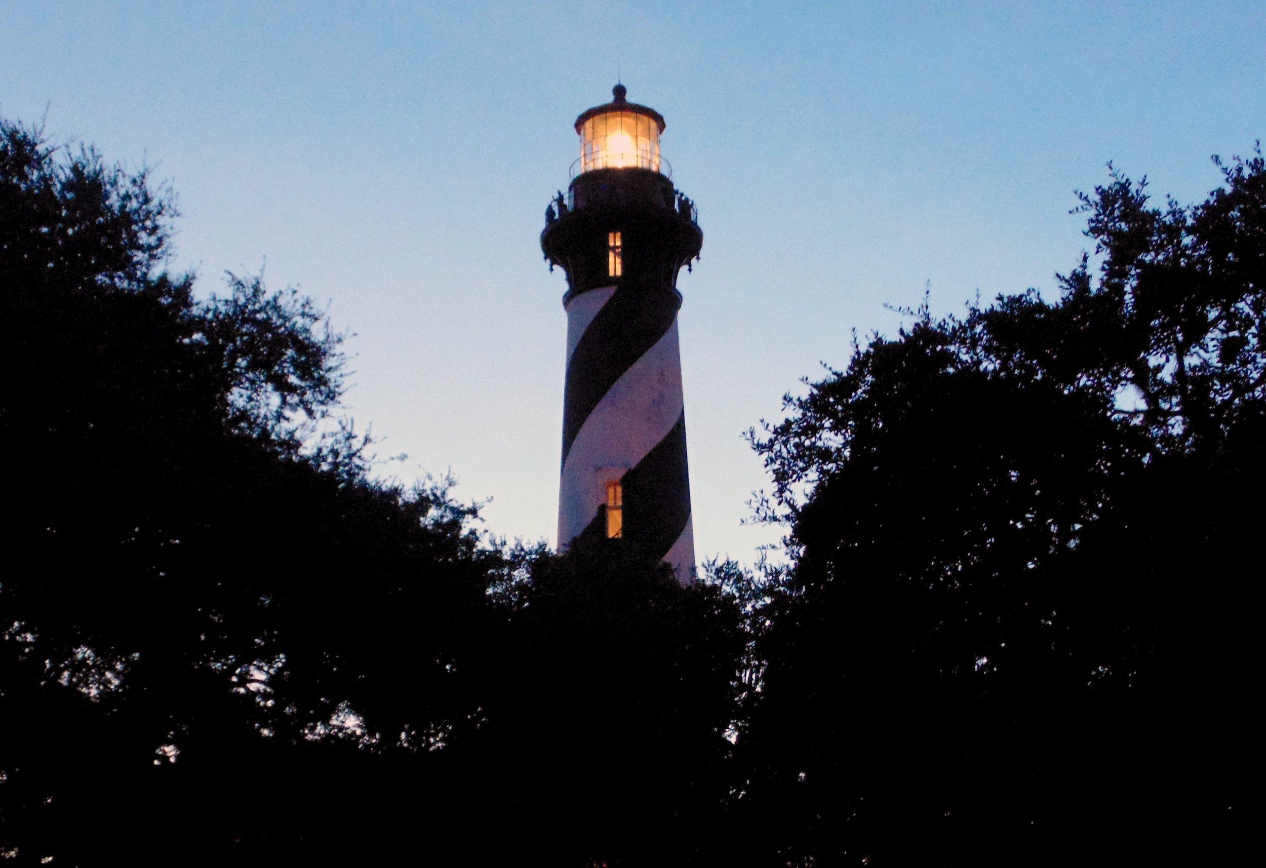 Twilight St Augustine Lighthouse.jpg
