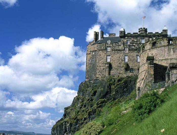 Vista de día de El Castillo de Edimburgo. Foto de Visit Scotland