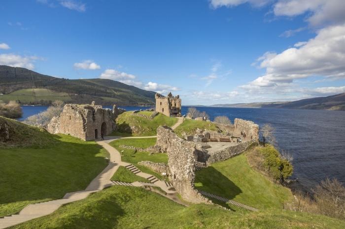 "Vista el Lago Ness, hogar del ""famoso monstruo Nessie"". Foto Visit Scotland"