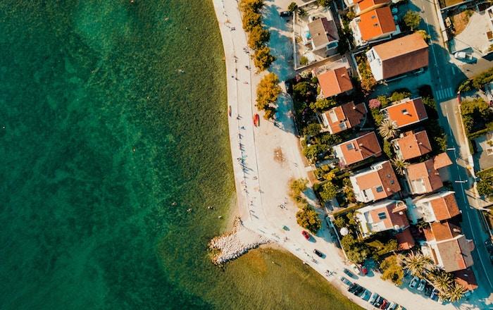 Zadar, la playa que canta en Croacia