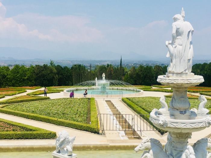 Aspecto del Jardín Italiano. Foto de Fer Delgadillo