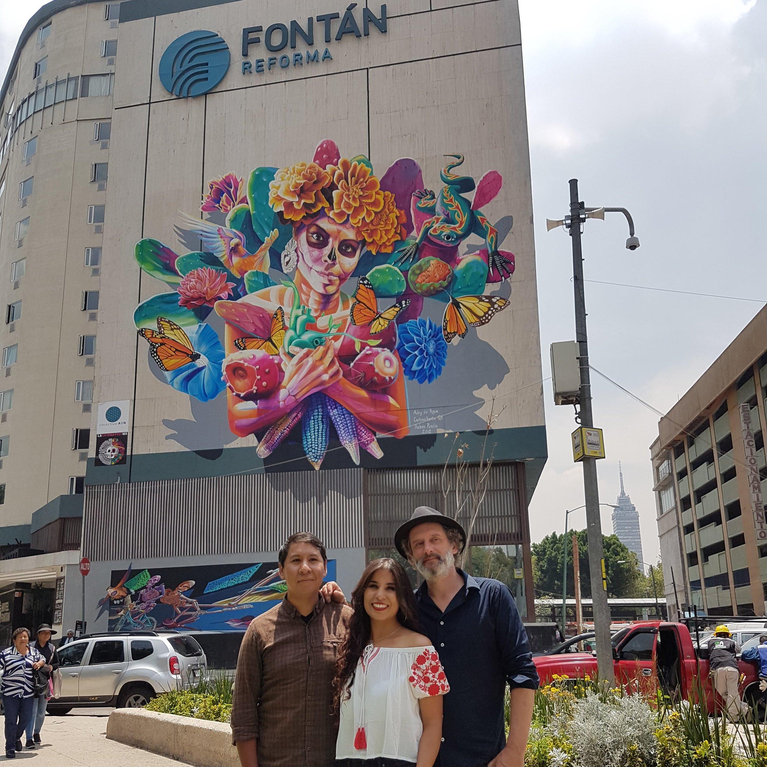 Carlos,Adry y Rubén mural Fontán .jpg