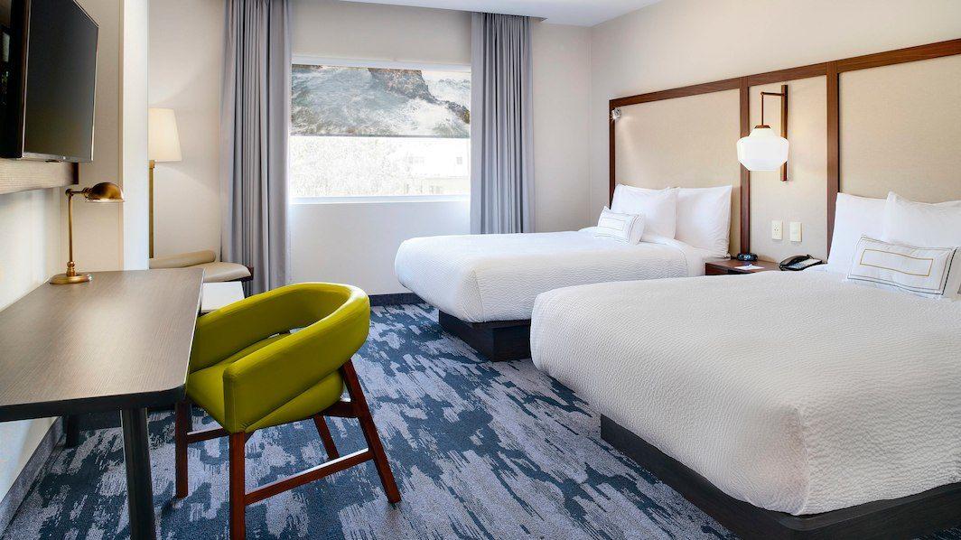 Habitación del nuevo Fairfield Inn by Marriott en Tijuana