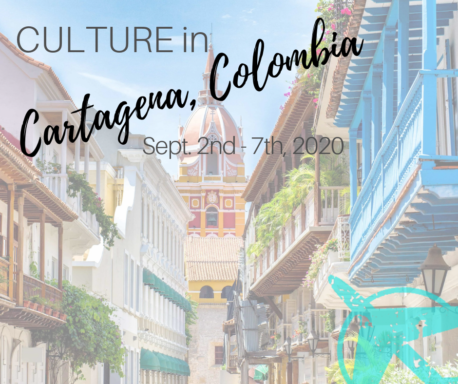 CULTURE - CARTAGENA, COLOMBIASEPT. 2-7th, 2020