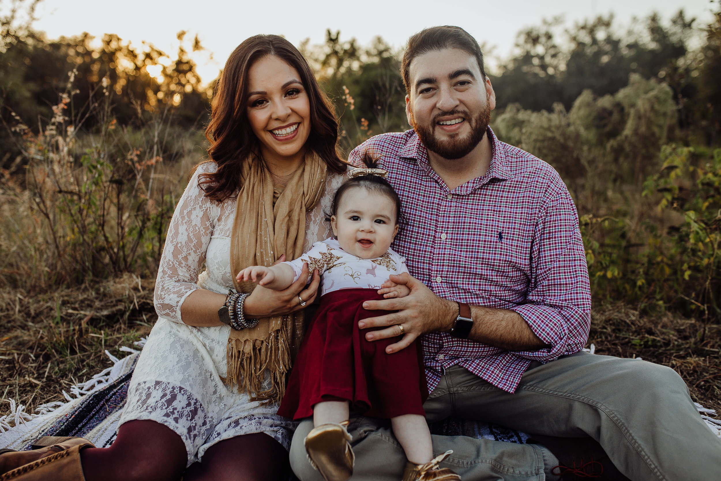 Debary Family Photographer with fall field pictures