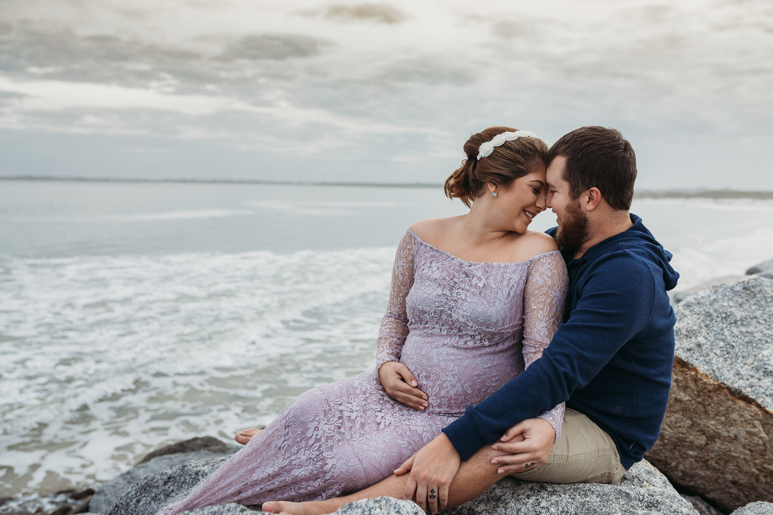 Ponce Inlet and Daytona Beach Maternity Photographer