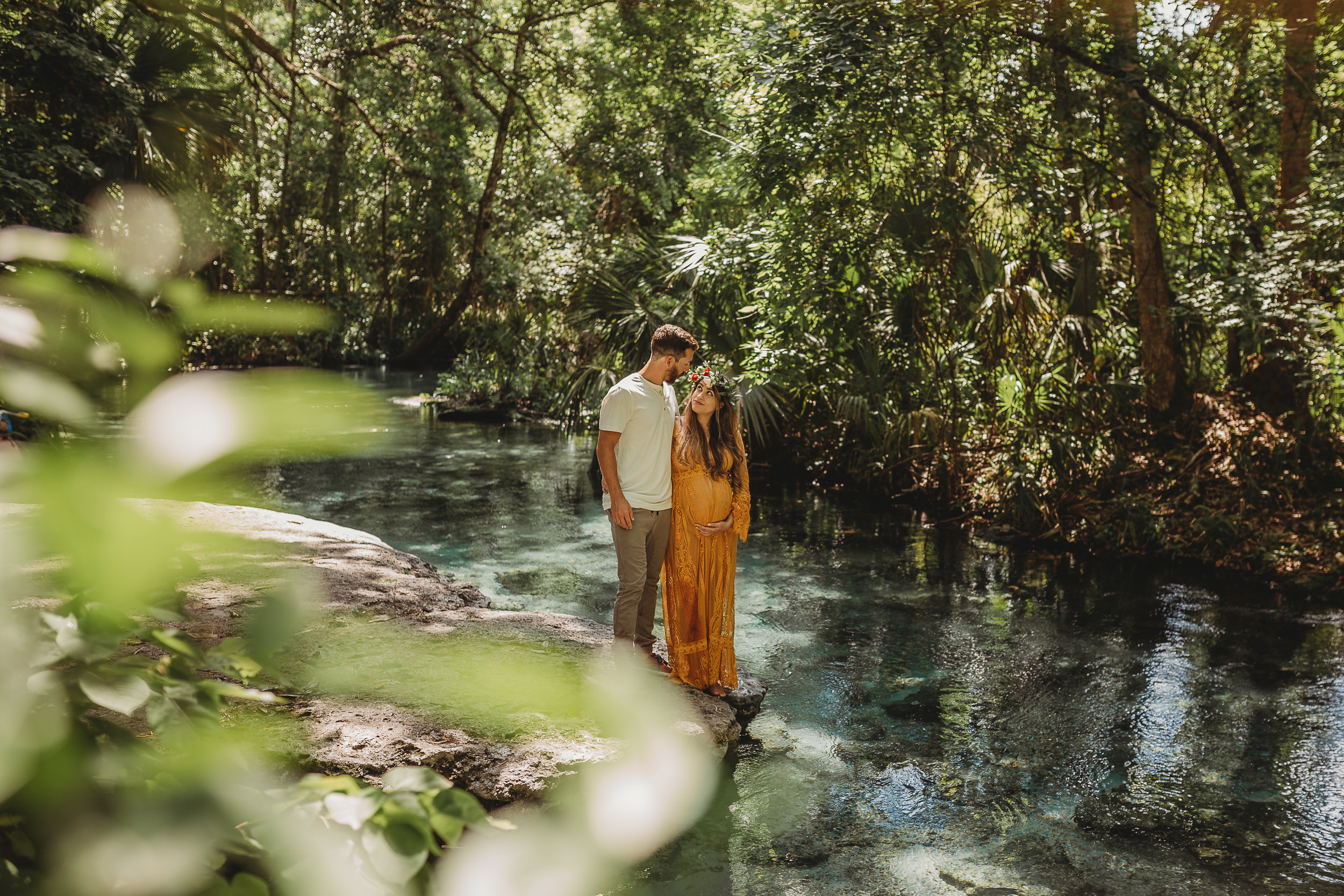 Kelly Springs boho maternity session from S&G Photography Central Florida photographer