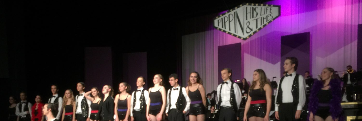 A picture from our 2017 musical Pippin