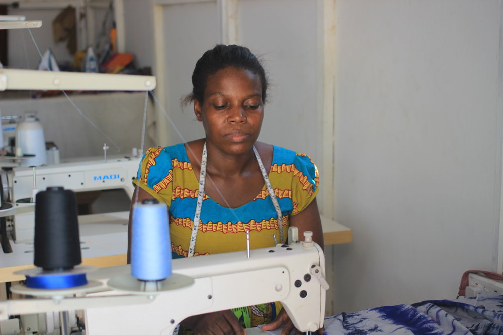 Our Mission - The Matilda Flow Inclusion (MFI) Foundation is a non-profit, non-governmental organization that employs women with disabilities, mothers of children with disabilities, and community members in Greater Accra, Ghana to create fashion. MFI Foundation is a transitional employment program which pays living wages and generates meaningful work.Learn More