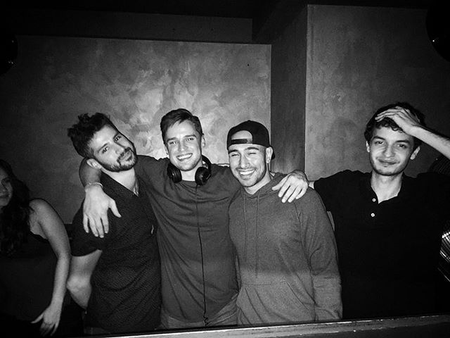 The first time @jdooomer didn't play Martin Garrix. Look how happy I was.