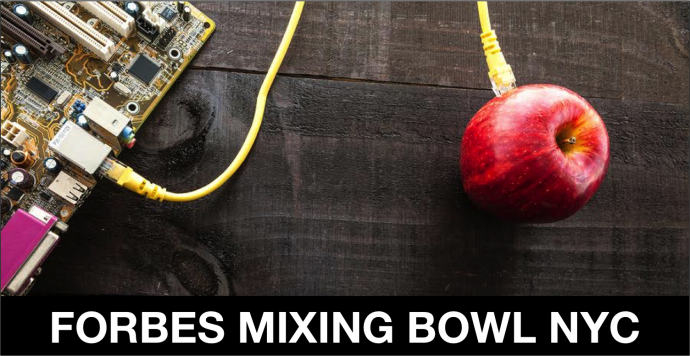 forbes mixing bowl nyc - New York, April 2017