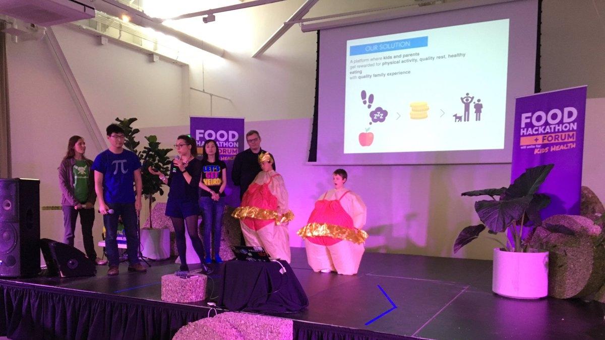 FOOD HACKATHON + forum for kids health - San Francisco, October 2016