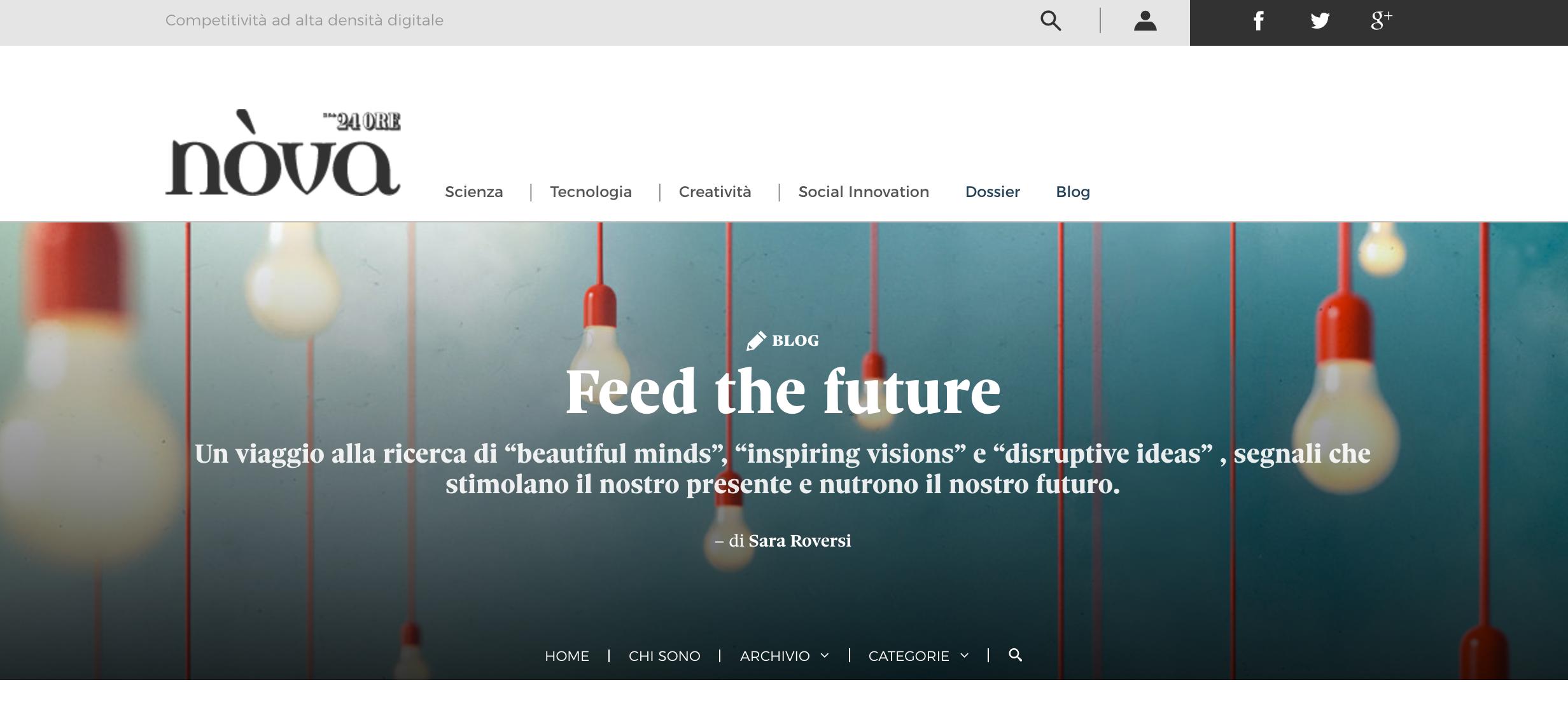 the velue of uniqueness: demanio marittimo km 278 - Nova Il Sole 24 Ore, July 2015