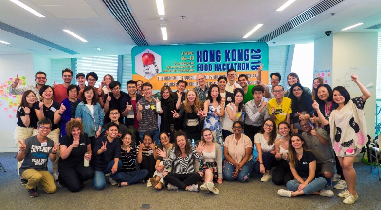 FOOD HACKATHON - Hong Kong, June 2018