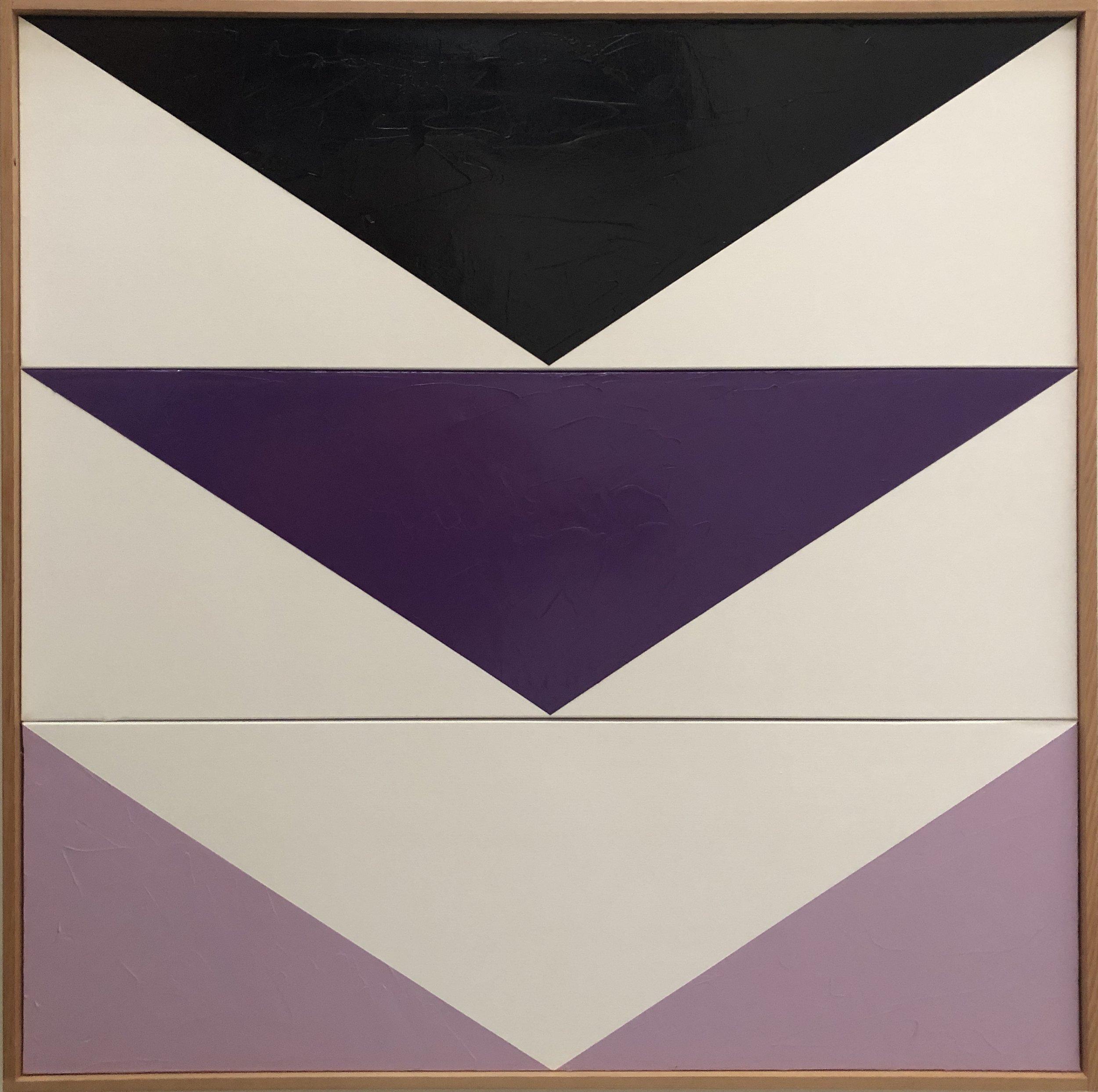 Purple Arrow Triptych JET0580 - Image 1.JPG