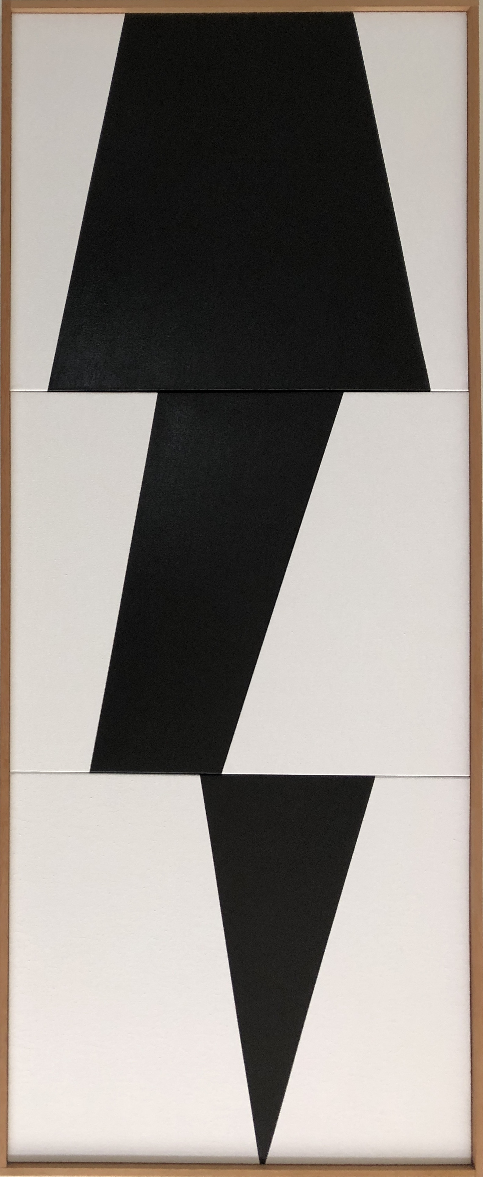 Black Jagged Triptych JET0642 - Image 1.JPG