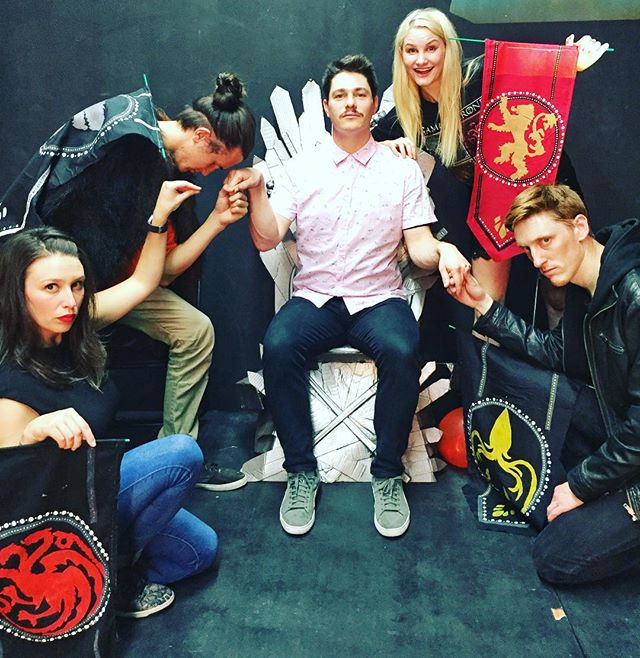 Lannister wins! In a final stand off via dance battle with Greyjoy, only ONE POINT separated the winner from those who were forced to bend the knee. What a fun audience we had last night for our opening in Melbourne! Can't wait to do it all again tonight. Tonight's line up is @riksplosive , @louisafitzy , @bokla and @theandyballoch ! See you at 10.15pm.