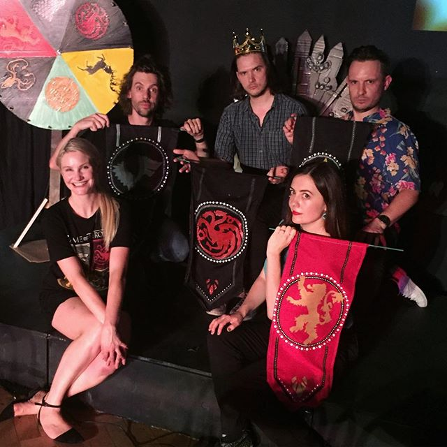 Another win for Targaryen, this time won by champion @davidmassingham ! Not many tickets left for tonight's show so booking is recommended - tonight's line up is @sophiekneebone , @jack.tandy , @jaronwhy and @markgambino_ 🔥🔥🔥🔥