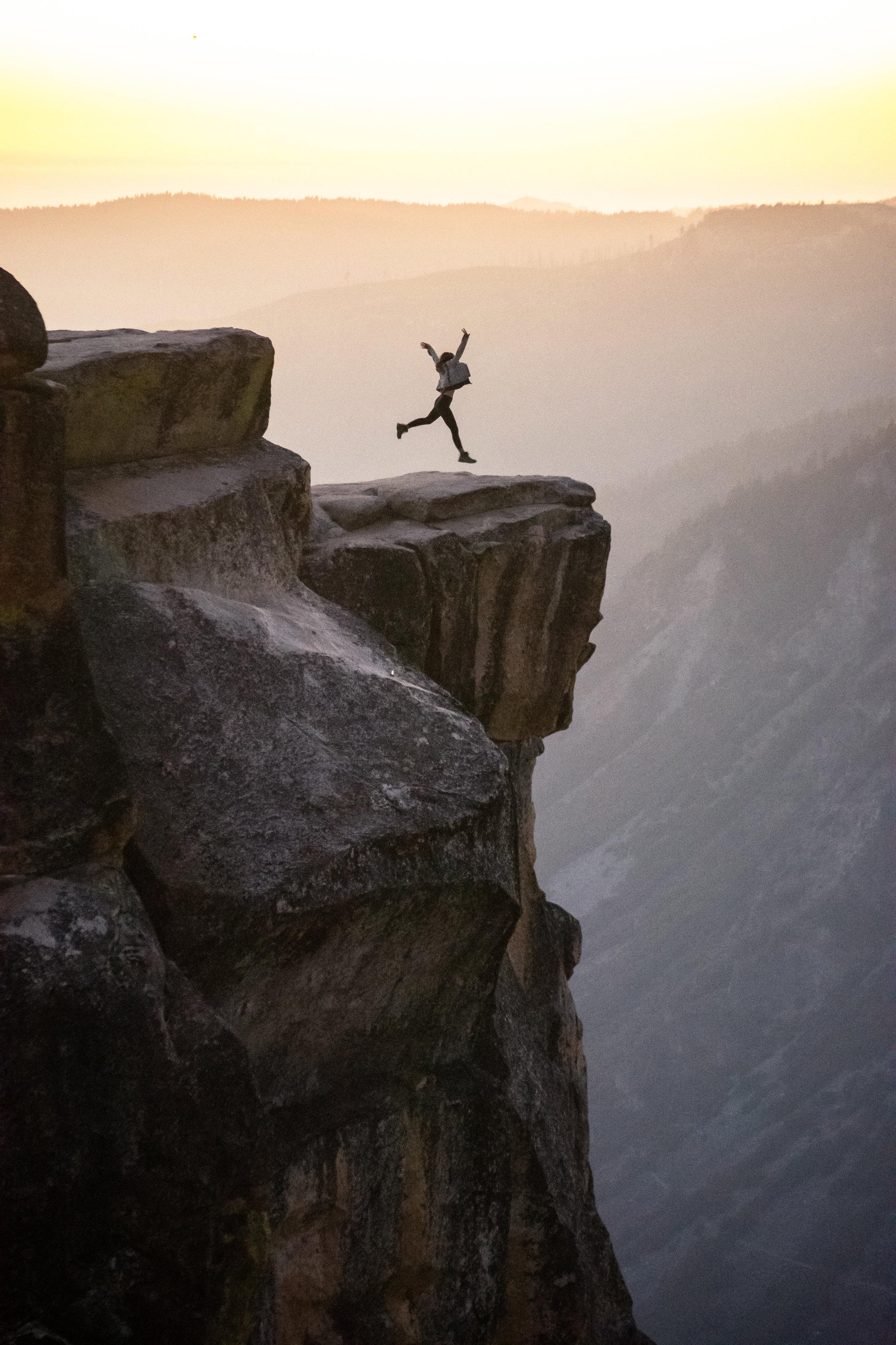 Taft Point Yosemite National Park