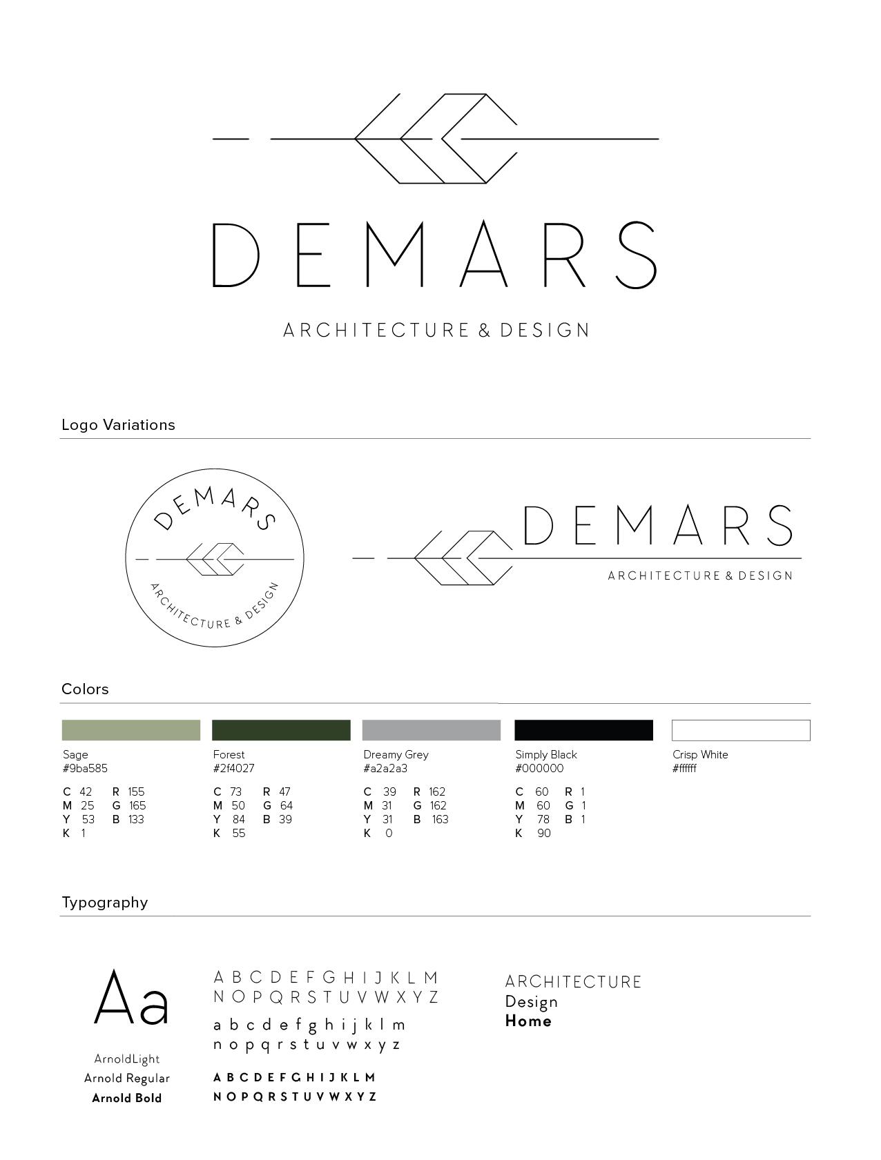 DeMars+Branding+Design